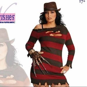 Dresses & Skirts - NWOT Nightmare On Elm St Plus Size Sweater Dress